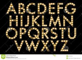 digital alphabet marquee style scrapbooking element to z hand created digitally your design purposes broadway