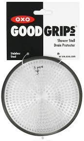 oxo good grips shower stall drain protector at luckyvitamin com