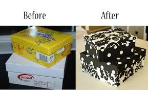 Decorative Shoe Box Now I know what to do with all of the shoe boxes fabric and hot 12