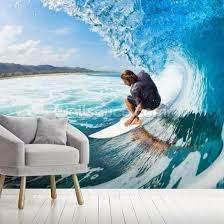 surfing wall mural wallsauce ca