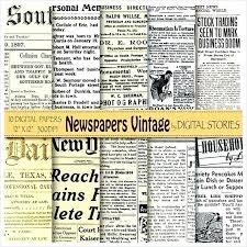 Old Newspaper Flyer Template Ad Photoshop Hajn Info