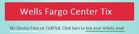 Wells Fargo Center Seating Chart Flyers 76ers Tickpick