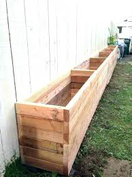 wooden planter x centerpieces wood outdoor planters flower xes for with trellis best outside boxes garden