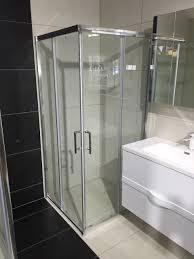 square shower box 900 corner entry with 2 sliding doors