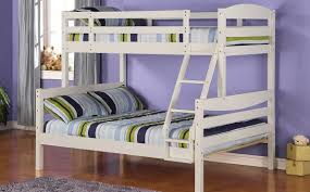Wood Twin Double Bunk Bed ...