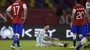 Argentina - Chile: Messi's best efforts not enough for Argentina in Chile  draw - Fase de clasificación al Mundial, Sudamérica
