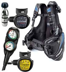 Cressi Travel Light Package Cressi Travelight Scuba Gear Travel Package
