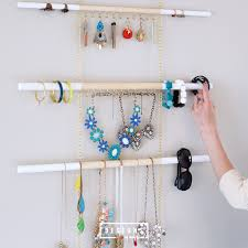 diy modern hanging jewelry organizer a beautiful and modern way to organize and