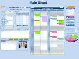 4 Staff Scheduler Excel 4 Business