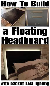 lighting schemes. how to make a floating headboard with backlit led lighting it might be really neat build frame pair schemes