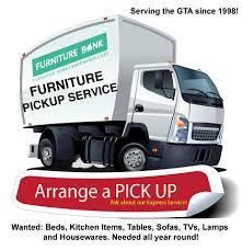 Furniture Pickup Service & Price FURNITURE BANK