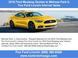 Mustang Quotes