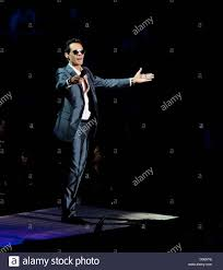 marc anthony performing live in concert at madison square garden new york usa