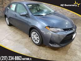 New 2018 Toyota Corolla LE 4D Sedan in Mattoon #T25862 | KC ...