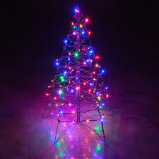 Miniature Christmas Tree With Lights