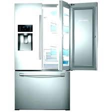 glass front fridge residential glass door refrigerator fresh home for depot front fridge used glass front