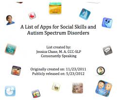 A List Of Apps For Social Skills And Autism Spectrum