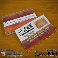 sdy floor business card