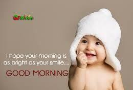 Good Morning Quotes With Baby Images