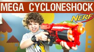 <b>Hasbro Nerf Mega</b> Cycloneshock: обзор и распаковка - YouTube