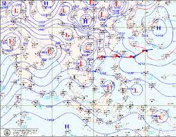China Weather Chart Shows A Surface Weather Chart About 2 Hours Before The Asar
