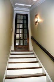 basement stairs looking down. Contemporary Down Martina Basement Staircase  Traditional Staircase Atlanta Phoenix  Renovations Love The Idea Of A Glass Door Going Down To Basement To Stairs Looking Down H
