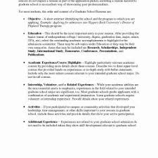 Resume For Graduate School Resume Cover Letter Highlighting Depth Of Experience New Astonishing ...