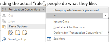 Punctuation Quotes Punctuation Required With Quotes In Microsoft Word Office