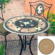 knf mosaic table top 30 round