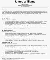 Accounting Resume Format Accountant Resume Sample Professional