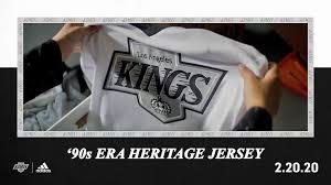 90s Era Heritage Jerseys Unveiled La Kings To Wear