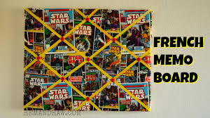 How To Make French Memo Board How To Make A French Memo Board DIY Ribbon Bulletin Board YouTube 13