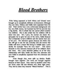 blood brothers after being separated at birth micky and edward page 1 zoom in
