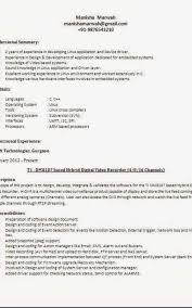 Different Resume Templates Amazing Different Resume Templates Formatted Templates Example