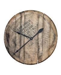 reclaimed bourbon barrel head wall clock whiskeymade bourbon barrel head wall clock 2 customized wall clocks custom wall clocks