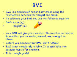 21 bmi bmi is a measure