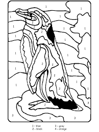 Small Picture Winter Animals Coloring Pages penguins themed coloring book