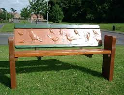 rustic outdoor bench benches wooden