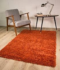 burnt orange rug. The Rug House Terracotta Orange Luxury Shaggy Shag Area Mat 2\u0027 X Burnt G