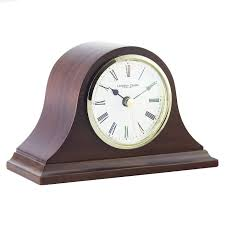 Buy London Clock Company Solid Wood Mantel Clock, Small Online at  johnlewis.com ...
