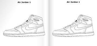 air jordan coloring book