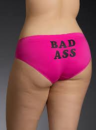 Pink panties in your ass