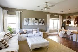 Living Room  Dining Room  Contemporary  Living Room  Salt Contemporary Living Room Colors