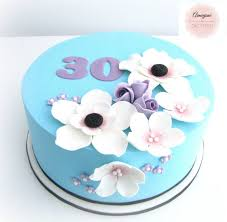 Blue Birthday Cake Designs Creative 30th Birthday Cake Ideas Crafty Morning