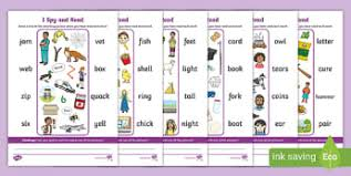 Students look at the pictures and circle the correct word. Phase 3 Phonics Activity Sheets Twinkl Resources