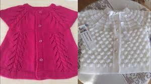 Hand Knitted Sweaters Designs For Baby Girl Crochet Baby Sweater Design Ideas Handmade Crochet Sweater Design Ideas For Little Girls