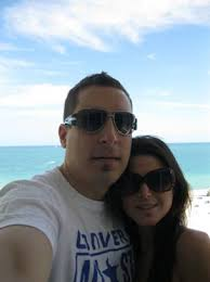 "Michelle Balazic. Happy in Miami. ""Our first trip to South Beach Miami … and definitely not our last! - couple6"