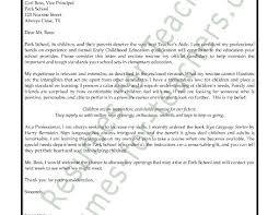 Teacher S Aide Cover Letter Example Cover Letter For Preschool