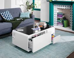 Shop furniture, home décor, cookware & more! This Smart Coffee Table That Went Viral On Tiktok Has A Fridge Drawer
