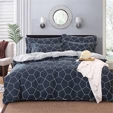 vougemarket 3 piece duvet cover set with 2 pillow shams
